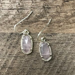 Small Kendra Scott Earrings- Pink